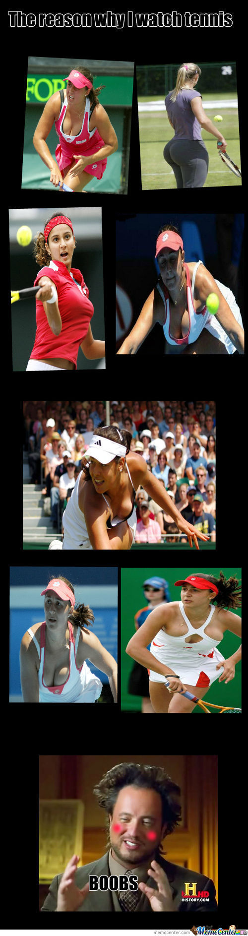 The Reason I Watch Tennis..