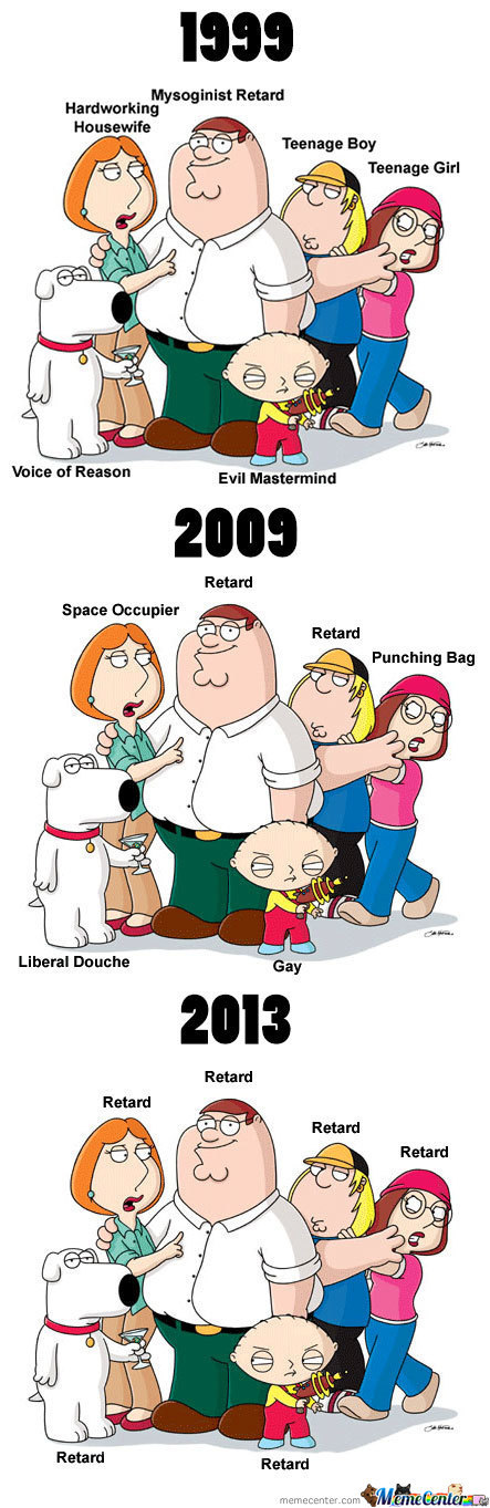 The Reason Why Family Guy Went Downhill