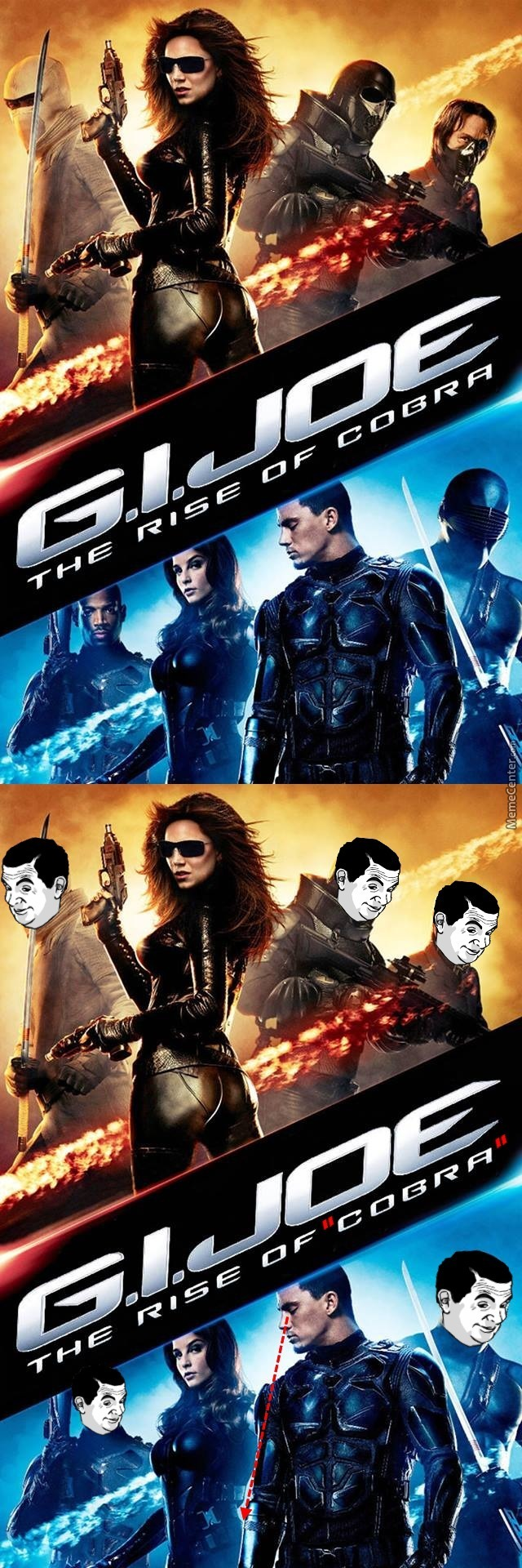 The Reason Why This Movie Was Titled The Rise Of Cobra{If You Know What I Mean}