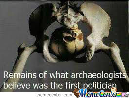 The Remains Of The The First Politician