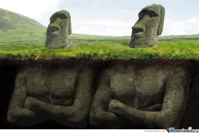The Secret Behind Easter Island