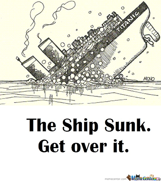 The Ship Sunk By Dicedrose Meme Center