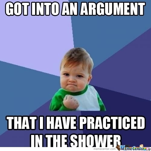 The Shower: Useful For Unnecesarry Stuff