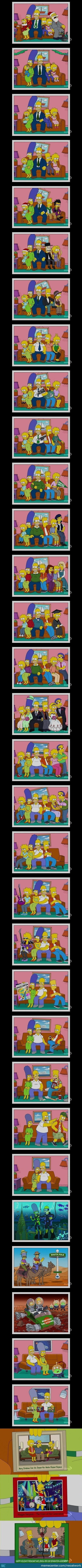 The Simpsons Evolution:best Cartoon Ever.