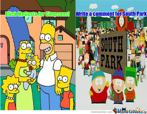 The Simpsons Or South Park
