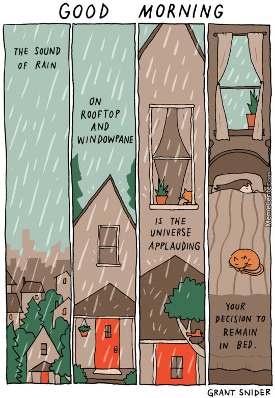 The Sound Of Falling Rain Is Like Perfect Poetry by grumbledude