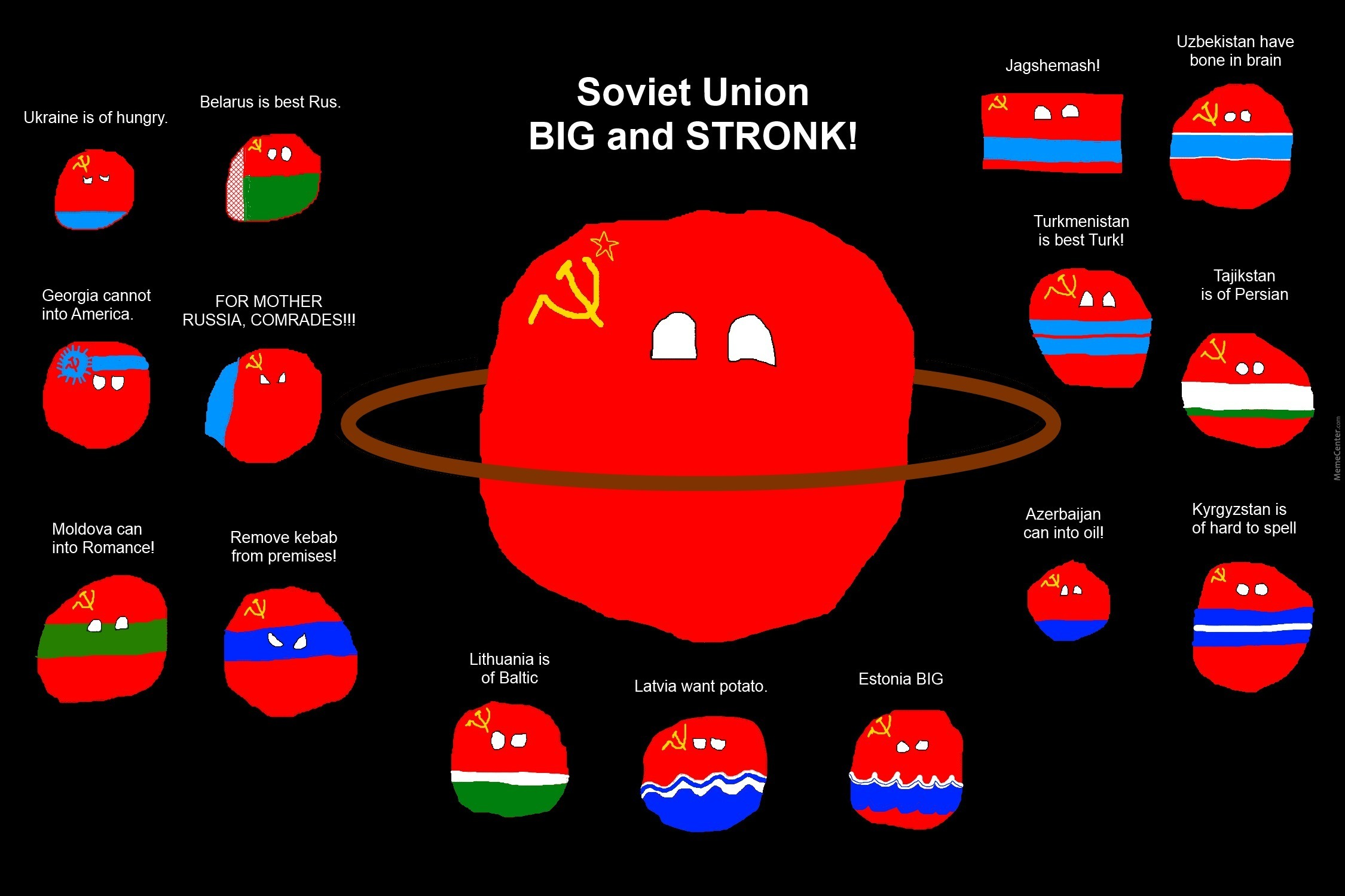 Our address is the Soviet Union 25