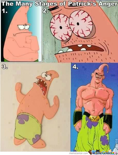 The Stages Of Patrick's Anger