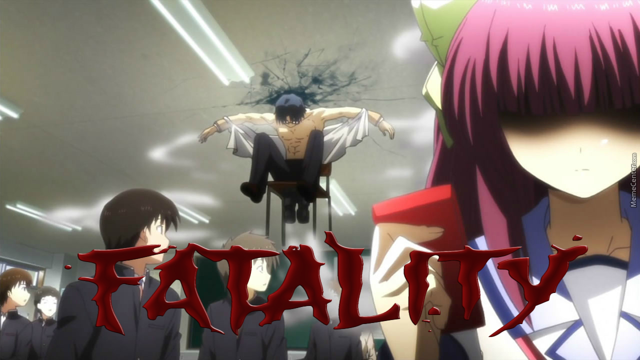 The Super Rocket Chair Of Death! (Anime: Angel Beats)