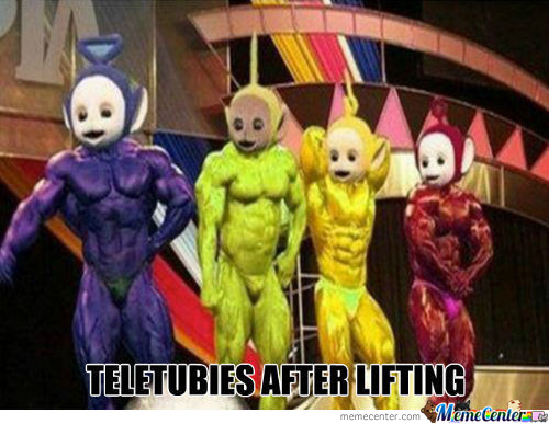 The Teletubies!