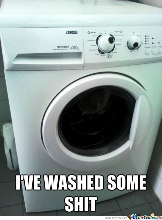 The Things I've Washed