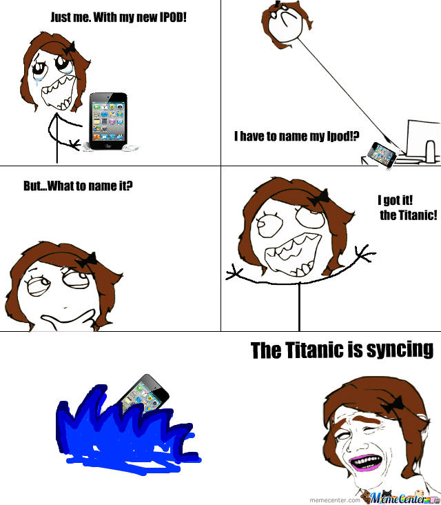 The Titanic Is Syncing
