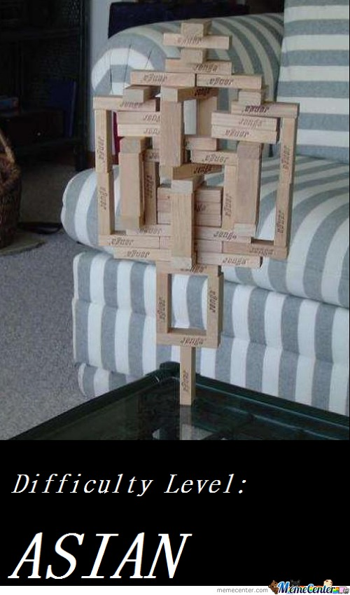The True Jenga