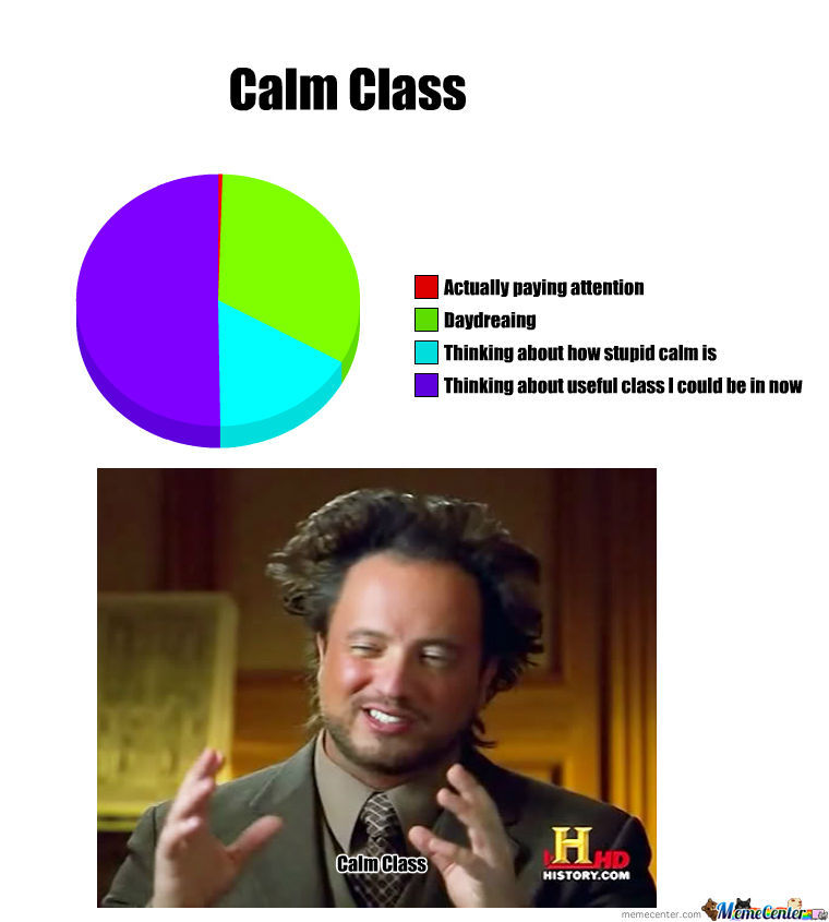 The Truth Of Calm Class