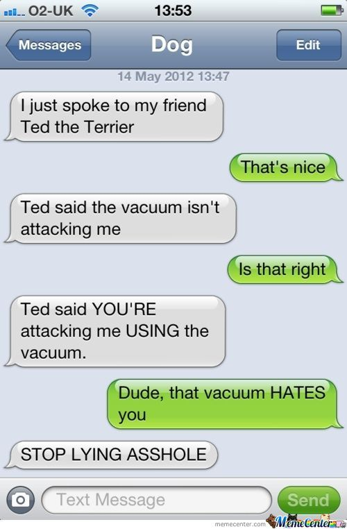 The Vacuum Hates You