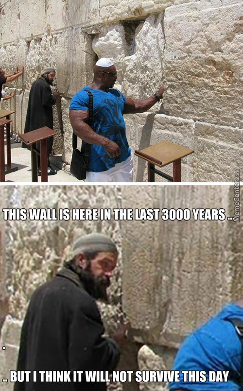 The Very Last Day Of The  Wailing Wall