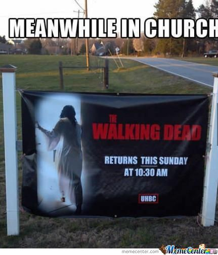 The Walking Dead: Easter Version.
