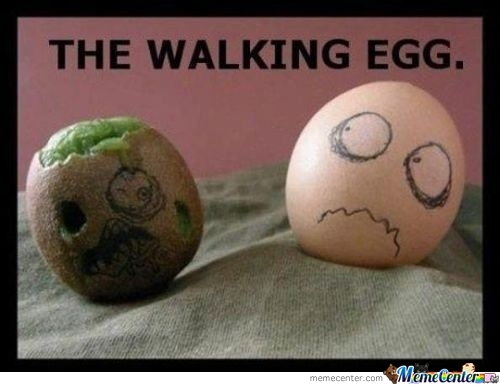 The Walking Egg