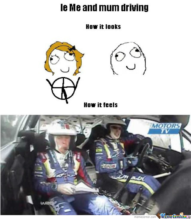 Me And Mum Driving