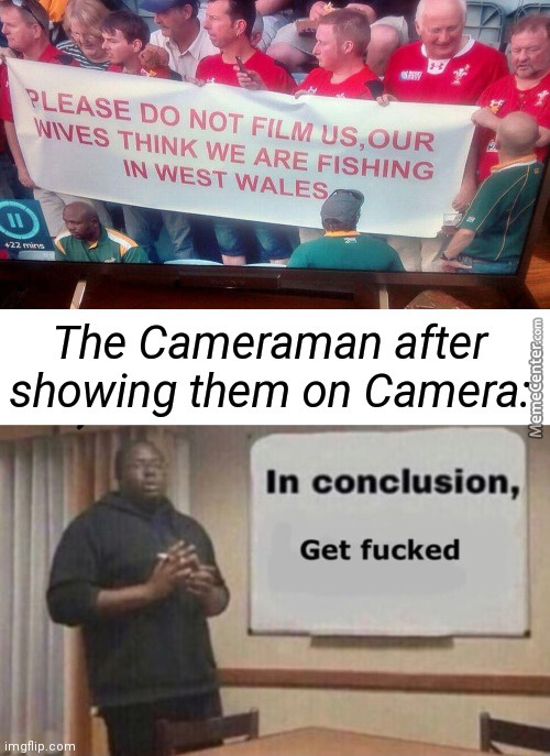 The Wicked Cameraman Strikes Again!