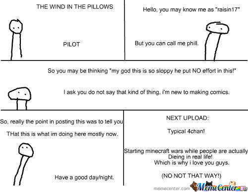 The Wind In The Pillows #.5: Pilot