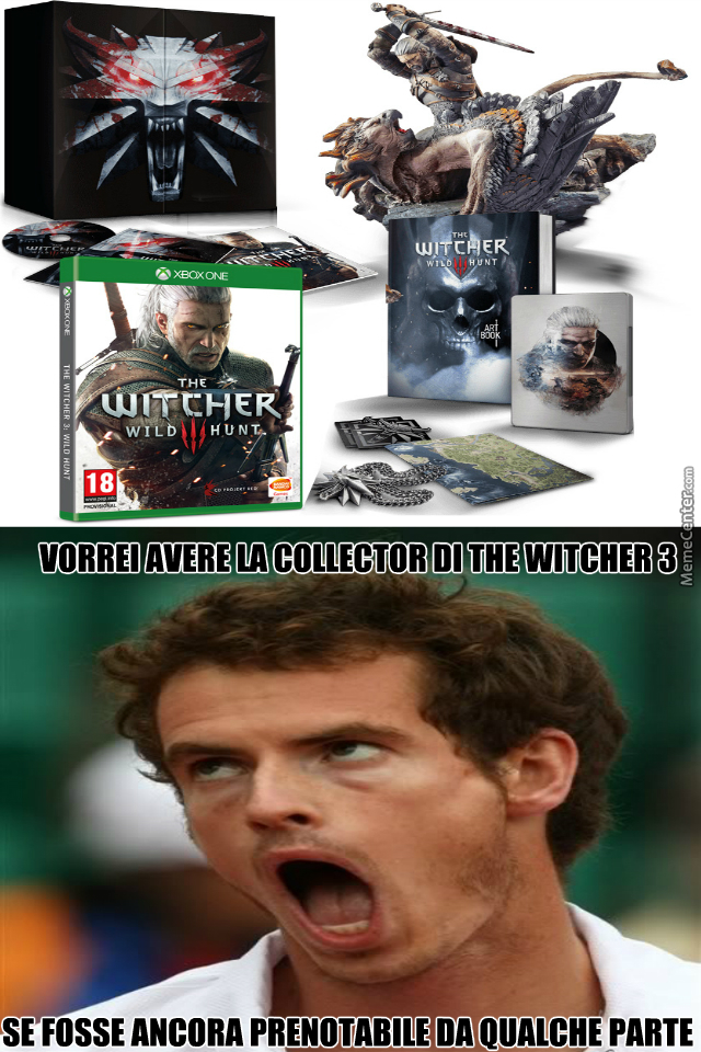 The Witcher 3 Collector Meme By Sebastianvettel Meme Center