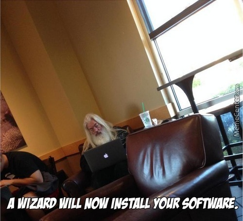 The Wizards Always Install Your Software Everytime