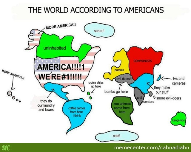 The World According To Some Americans