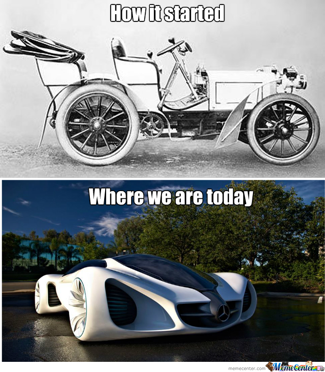 Then And Now 1: Mercedes-Benz