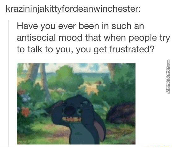 Then You Get Depressed Because You Are So Alone