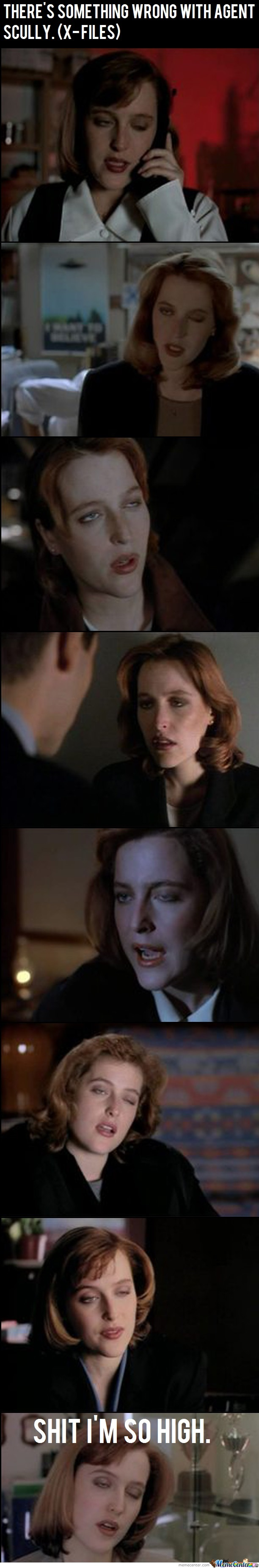 There's Something Wrong With Miss. Scully