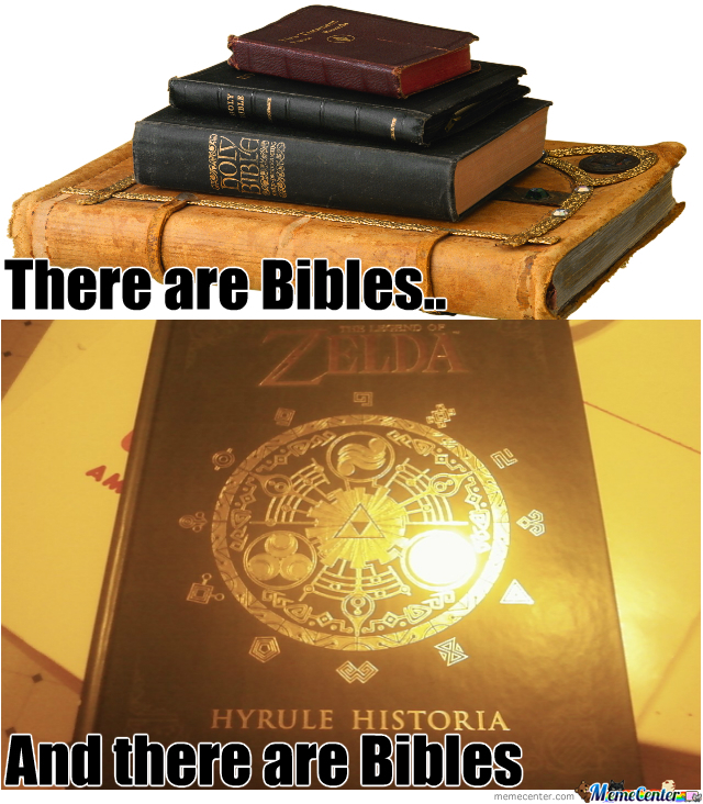 There Are Bibles.