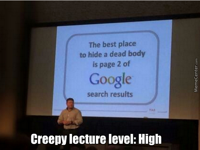 There Are Lectures About Everything