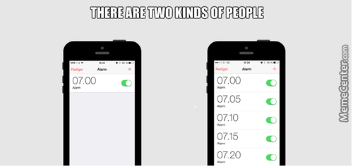 There Are Two Kinds Of People. Which One Are You?
