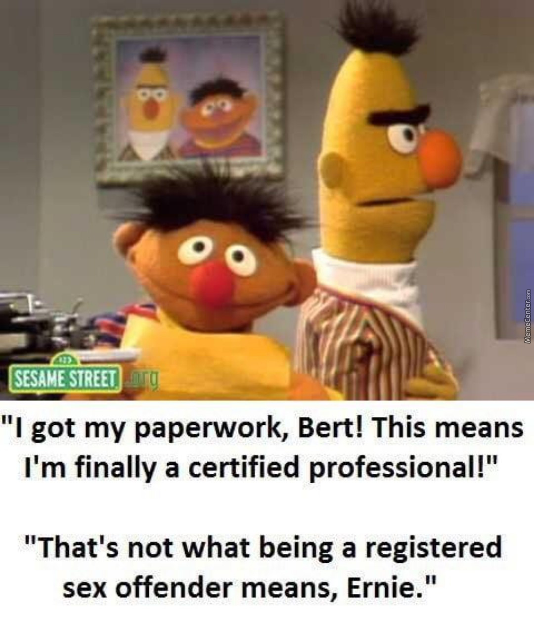 There Aren't Enough Sesame Street Memes On This Site