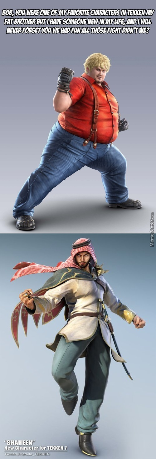 There Is A New Character In The New Tekken 7 And I Love Him I Can't Wait To See His Fight Style