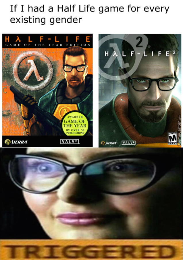 there will always be only 2 genders aint that right gaben by