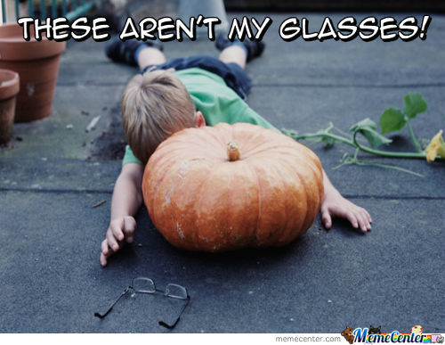 These Aren't My Glasses!