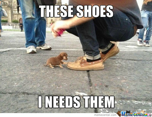 Shoes Memes. Best Collection of Funny Shoes Pictures