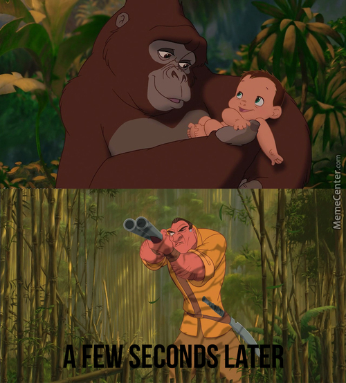 They Destroyed The Opportunity For That Kid To Become Tarzan Irl Smh