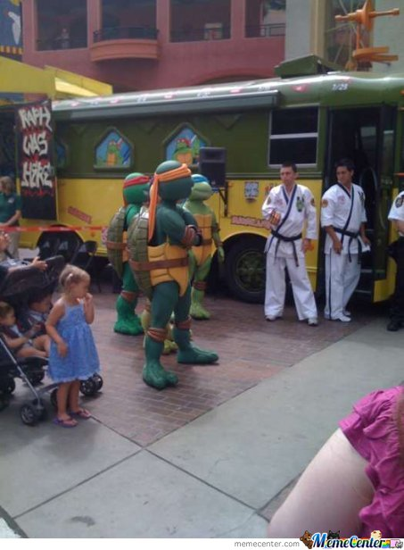 They Got Nothing On The Ninja Turtles