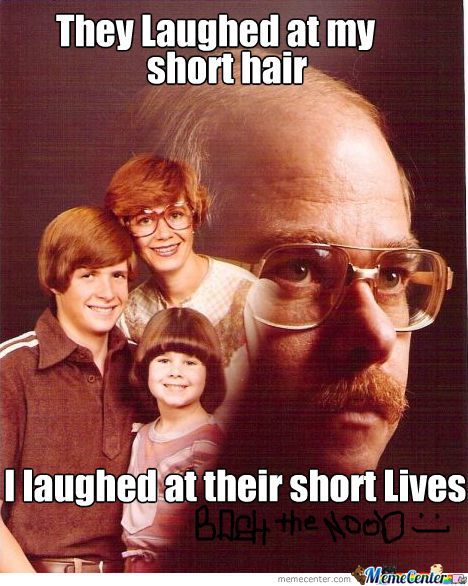 They Laughed At My Short Hair...