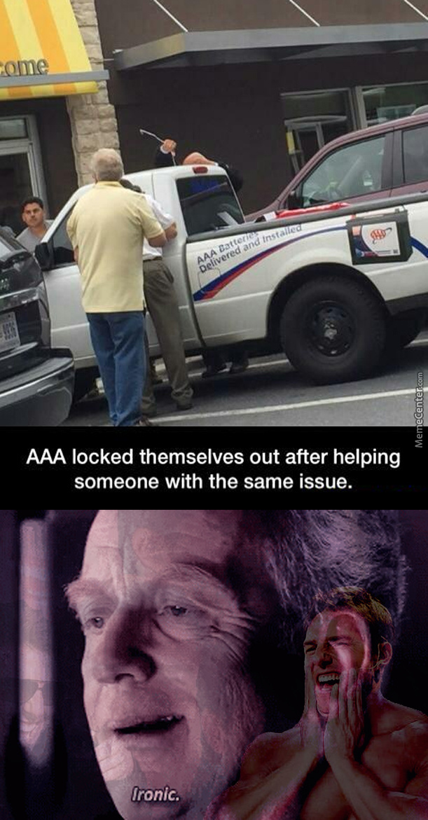 They Should Call Aaa For Help