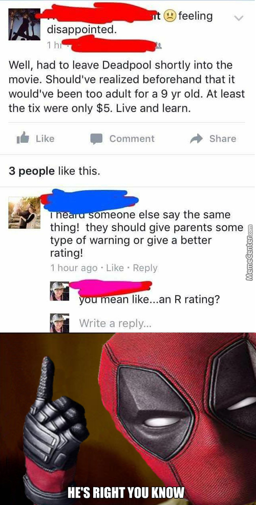 They Should See The Ratings Then