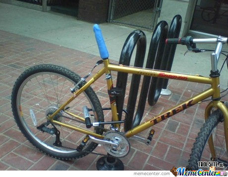 They Wont Steal Ur Bike Like This