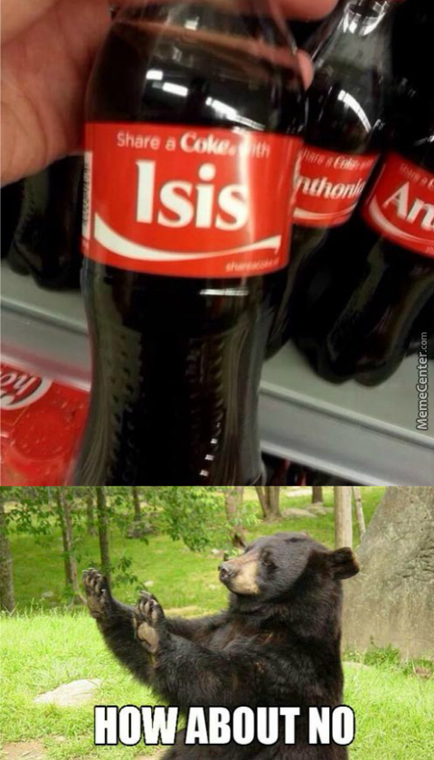 They Would Probably Behead Me For Drinking That Infidel Drink