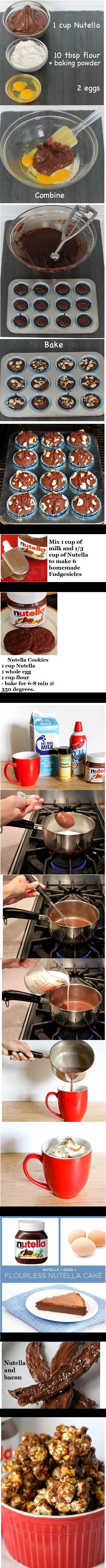 Things You Can Make With Nutella