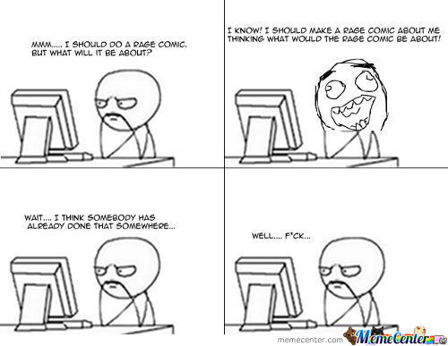 Thinking Of A Rage Comic To Make.