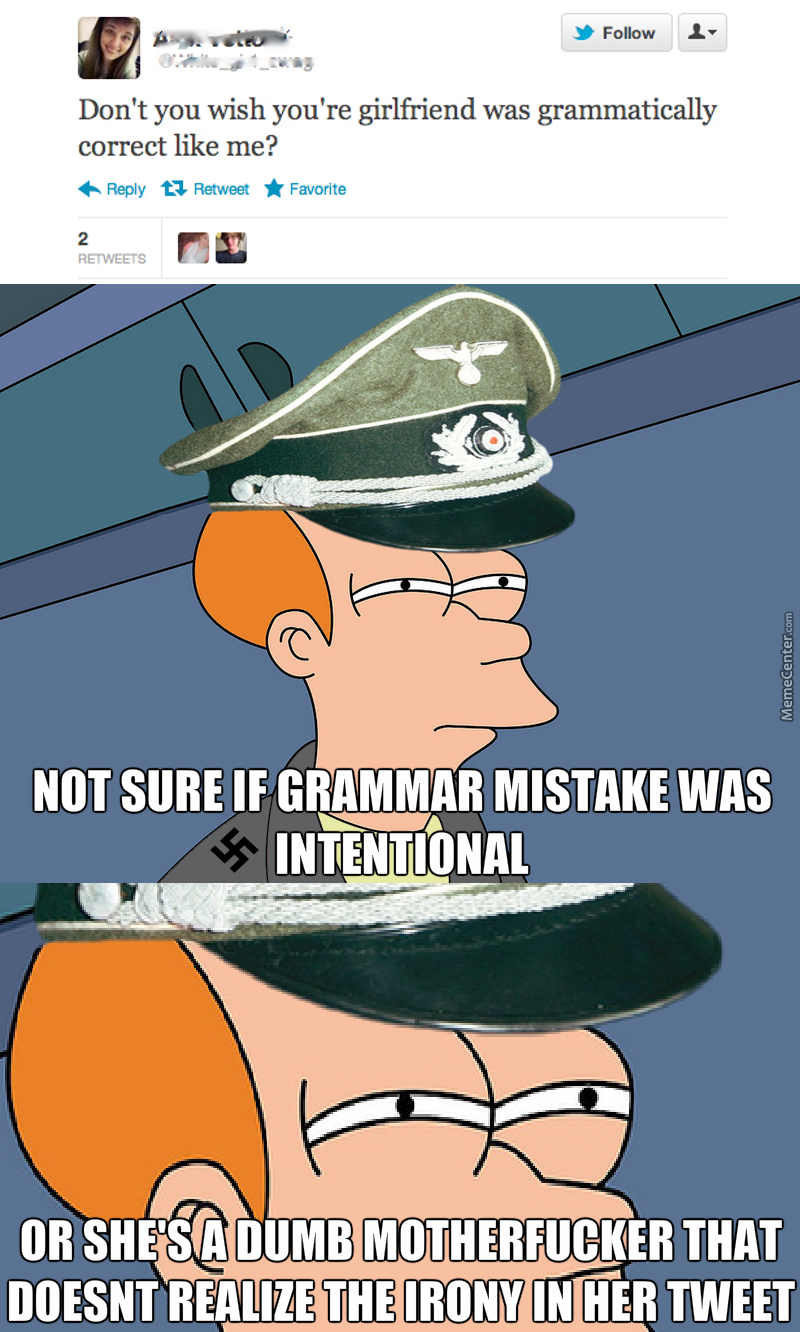 This Confuses The Grammar Nazi Inside Me