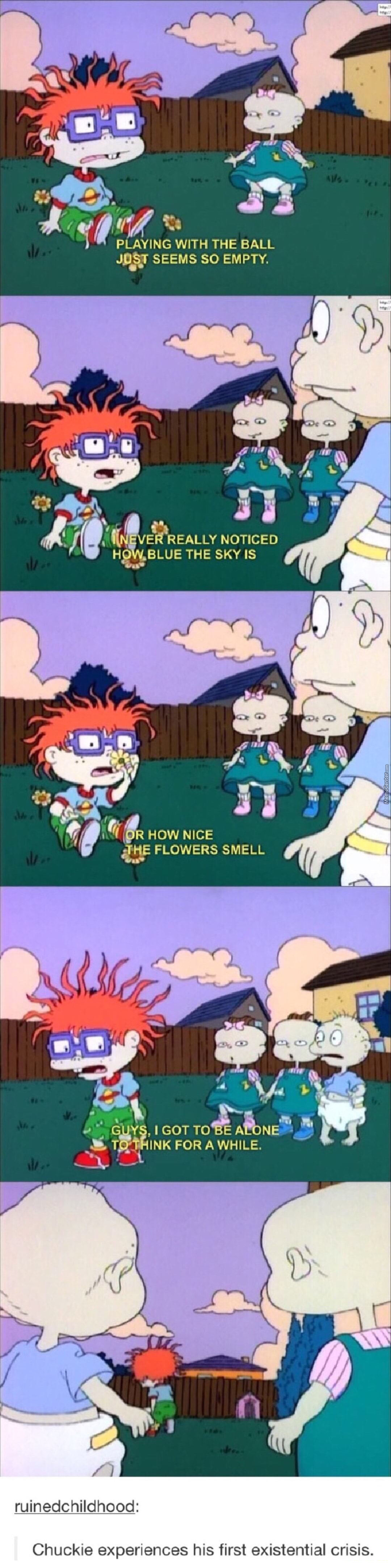 This Gets Pretty Deep For A Kid Show